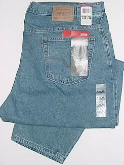 JEANS LEVI STRAUSS 560 COMFORT FIT&#153 1560-4891X BLUE 58 32 #291046