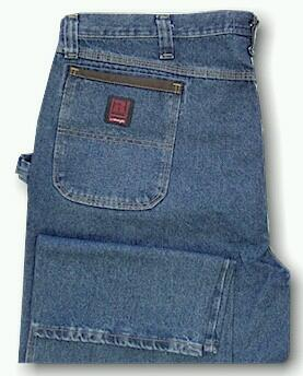 JEANS WRANGLER RIGGS WORKHORSE 3W001-AI-R BLUE 42 36 #012698
