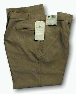 DRESS SLACKS LEVI STRAUSS ACTION SLACK 48690-2725 BROWN 56 32 #327563