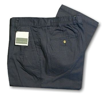 CASUAL SLACKS CUTTER BUCK FAIRWAY PANT BCB06231 NAVY 36 LONG #102991