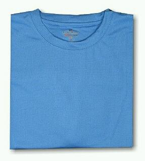 ATHLETIC WEAR RUSSELL DRI-POWER CREW TEE RMDP615 BLUE 3XL BIG #330086