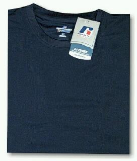 ATHLETIC WEAR RUSSELL DRI-POWER CREW TEE RMDP615 NAVY 2XL TALL #279408