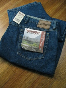JEANS WRANGLER BLAST RELAXED FIT 35002-AB BLUE 54 30 #100577