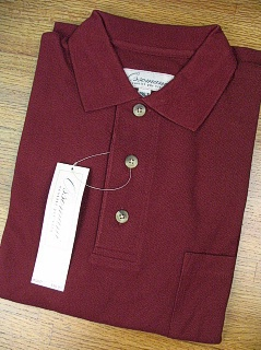 SPORTSHIRT SS KNIT COPPER COVE POCKET PIQUE C1000X BURGUNDY 6XL BIG #187875