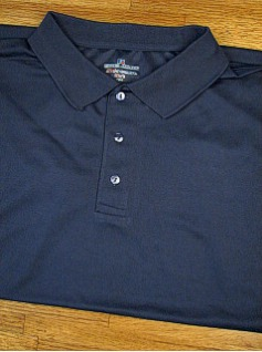 ATHLETIC WEAR RUSSELL DRI-POWER SOLID POLO RDPP193 NAVY 3XL TALL #052306