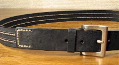 BELTS - CASUAL OUTFITTER FASHION JEAN BELT 7129620 BLACK 58  #072500