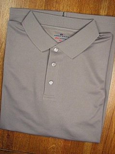 ATHLETIC WEAR RUSSELL DRI-POWER SOLID POLO RDPP193 CHARCOAL 6XL BIG #237914