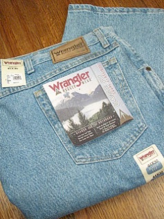 JEANS WRANGLER RUGGED WEAR ROUGH WSH 39902-RI INDIGO 48 30 #016737