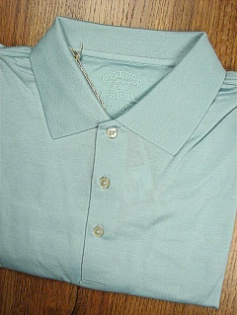 SPORTSHIRT SS KNIT CUTTER BUCK 60/2S PINNACLE POLO BCK05396 AQUA XL TALL #294067