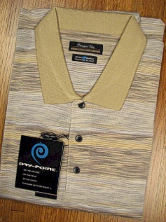 SPORTSHIRT SS KNIT PALMLAND MERCERIZED WICKING CT 3500-503 TAUPE 2XL BIG #264224