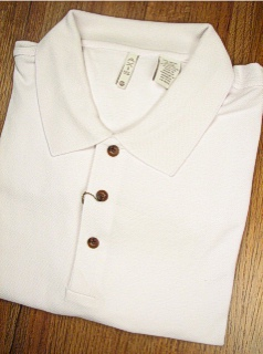 SPORTSHIRT SS KNIT AXIS NAILHEAD POLO 7BBK1775-100 WHITE 5XL TALL #161743
