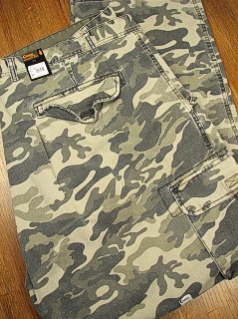 CASUAL SLACKS COPPER COVE CARGO CAMO PANTS CAT15-X CAMO 60 32 #259569