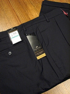 DRESS SLACKS SAVANE LUSTER GAB COMFORT S6FB0339 HT NAVY 36 36 #181187