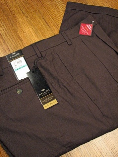 DRESS SLACKS SAVANE LUSTER GAB COMFORT S6FB0335 HT OLIVE 50 34 #334549