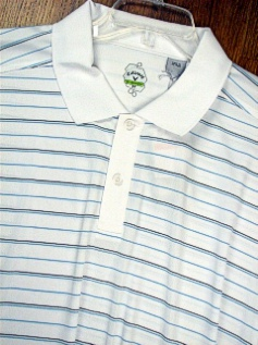 SPORTSHIRT SS KNIT CALLAWAY GOLF X-SERIES DRY STRIPE BCSK112X-100 WHITE 4XL BIG #279958
