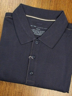 SPORTSHIRT SS KNIT AXIS PASO TEXTURED MODAL 7BBK1786-411 NAVY 2XL BIG #014717
