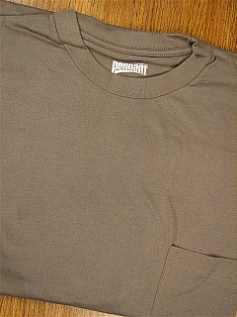 POCKET TEES PENNANT SPORT PREMIUM POCKET TEE 121- SAGE 4XL BIG #293154