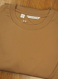 LS KNIT CREW CUTTER BUCK DISTRICT CREWNECK BCK09005 TAUPE 3XL BIG #329640