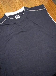 ATHLETIC WEAR RUSSELL DRI-PWR FUSION MUSCLE RDPM925 NAVY 4XL BIG #290676