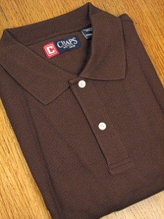 SPORTSHIRT SS KNIT CHAPS SOLID PIQUE POLO 10111-270 BIRCH 3XL TALL #118600
