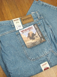 JEANS WRANGLER CARPENTER JEAN 32001-VI BLUE 48 30 #113296