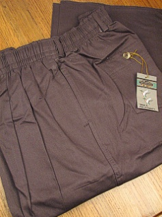 CASUAL SLACKS CREEKWOOD ELASTIC TWILL IRR IR-5520 CHARCOAL 48  #349077