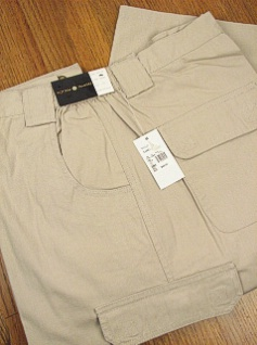 CASUAL SLACKS CTTON TRADERS CARGO CANVAS PANT 5415- SAND 3XL BIG #312262