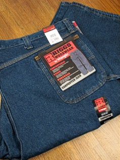 JEANS WRANGLER ANTIQUE CARPENTER 3W020-AI INDIGO 48 34 #220316