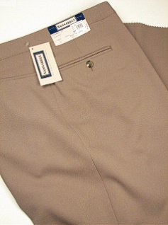 DRESS SLACKS SANSABELT ALL POLY 62-70 2043JPFR43RZ TAUPE 68 REG #114745