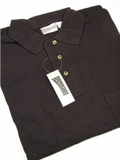 SPORTSHIRT SS KNIT PENNANT SPORT POCKET PIQUE POLO 102-X BLACK 6XL BIG #320058