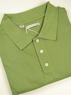 SPORTSHIRT SS KNIT CUTTER BUCK ACE PIQUE POLO BCK08984-MSR GREEN 2XL BIG #307411