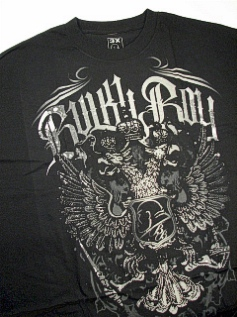 POCKET TEES BULKY BOY SCREAMING EAGLE BB1049 BLACK 4XL BIG #140575