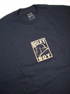 POCKET TEES BULKY BOY THE CLASSIC BB1009 NAVY 5XL BIG #100319