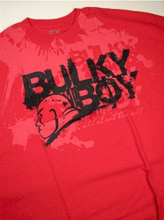 POCKET TEES BULKY BOY ALL ABOUT WORLD BB1035 RED 4XL BIG #173391