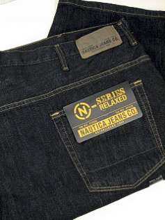 JEANS NAUTICA JEANS RELAXED FIT JEAN 0D3500-97R DARK 50 30 #176257