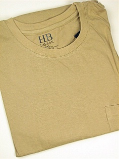 POCKET TEES FAMOUS MAKER POCKET TEE 42888 TAN 3XL BIG #350516