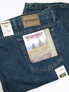 JEANS WRANGLER RELAXED STRAIGHT FIT 31000-MT-X MEDITER 56 30 #172701