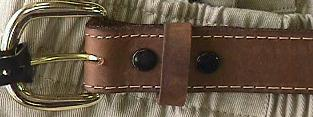 BELTS - CASUAL MARK WOLF 1-1/4 WIDE OIL TAN 201-BUC BUCK 54  #220660