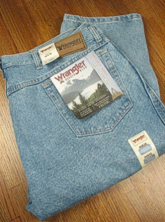 JEANS WRANGLER RELAXED FIT JEAN 35001-VI INDIGO 52 28 #252889